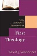 First Theology