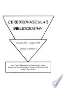 Cerebrovascular Bibliography