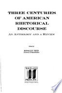 Three Centuries of American Rhetorical Discourse