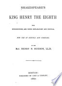 Shakespeare s King Henry the Eighth