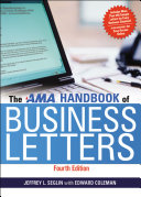 AMA Handbook of Business Letters Pdf