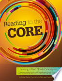 Reading to the Core Book PDF