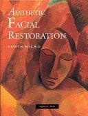 Aesthetic Facial Restoration Book