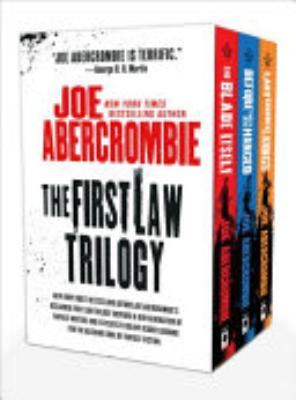 Book cover of 'The First Law Trilogy' by Joe Abercrombie