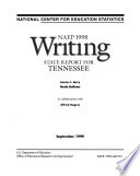 NAEP     Writing Report for Tennessee