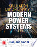 Simulation And Analysis Of Modern Power Systems Book PDF