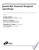 Essential General Surgical Oncology