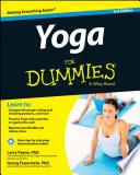 Yoga For Dummies Book