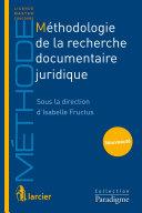 Méthodologie de la recherche documentaire juridique