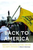 Pdf Back to America