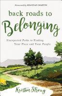 Back Roads to Belonging Pdf/ePub eBook