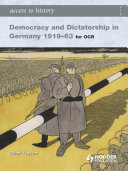Access to History  Democracy and Dictatorship in Germany 1919 63