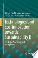 Technologies and Eco innovation towards Sustainability II