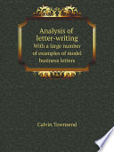 Analysis of Letter writing