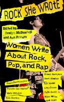 Rock She Wrote Book