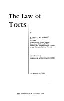 Cover of The Law of Torts
