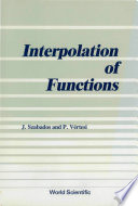 Interpolation of Functions