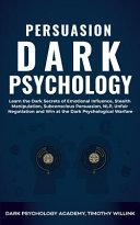 Persuasion Dark Psychology