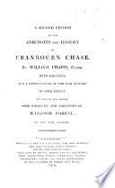 Anecdotes Respecting Cranbourn Chase