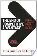 The End of Competitive Advantage Book