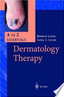 Dermatology Therapy A Z Essentials Book PDF