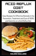 Acid Reflux Diet Cookbook
