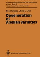 Degeneration of Abelian Varieties