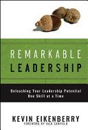 Remarkable Leadership Pdf/ePub eBook