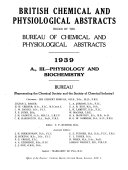 British Chemical and Physiological Abstracts