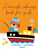 Animals Coloring Book for Girls