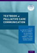 Textbook of Palliative Care Communication