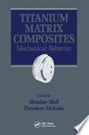 Titanium Matrix Composites Book PDF