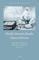 Sheikh Ahmadu Bamba: Selected Poems