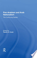 Pan-arabism And Arab Nationalism