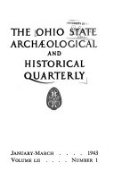 The Ohio State Archaeological and Historical Quarterly Book