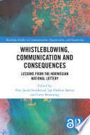 Whistleblowing  Communication and Consequences