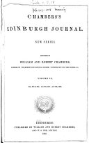 Chambers s Edinburgh Journal