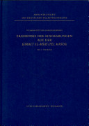 Ergebnisse der Ausgrabungen auf der Ḫirbet el-Mšāš (Tēl Māśōś) 1972-1975