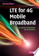 LTE for 4G Mobile Broadband