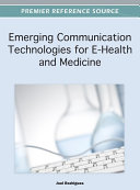 Emerging Communication Technologies for E-Health and Medicine Pdf/ePub eBook