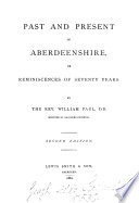 Past and Present of Aberdeenshire