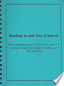 Reading in and Out of School