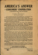 America  Answer   Consumers  Cooperation