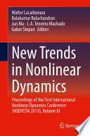 New Trends in Nonlinear Dynamics Book
