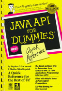 Java API for Dummies Quick Reference