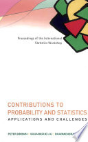Contributions to Probability and Statistics  Applications and Challenges Book
