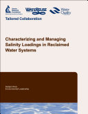 Pdf Characterizing and Managing Salinity Loadings in Reclaimed Water Systems