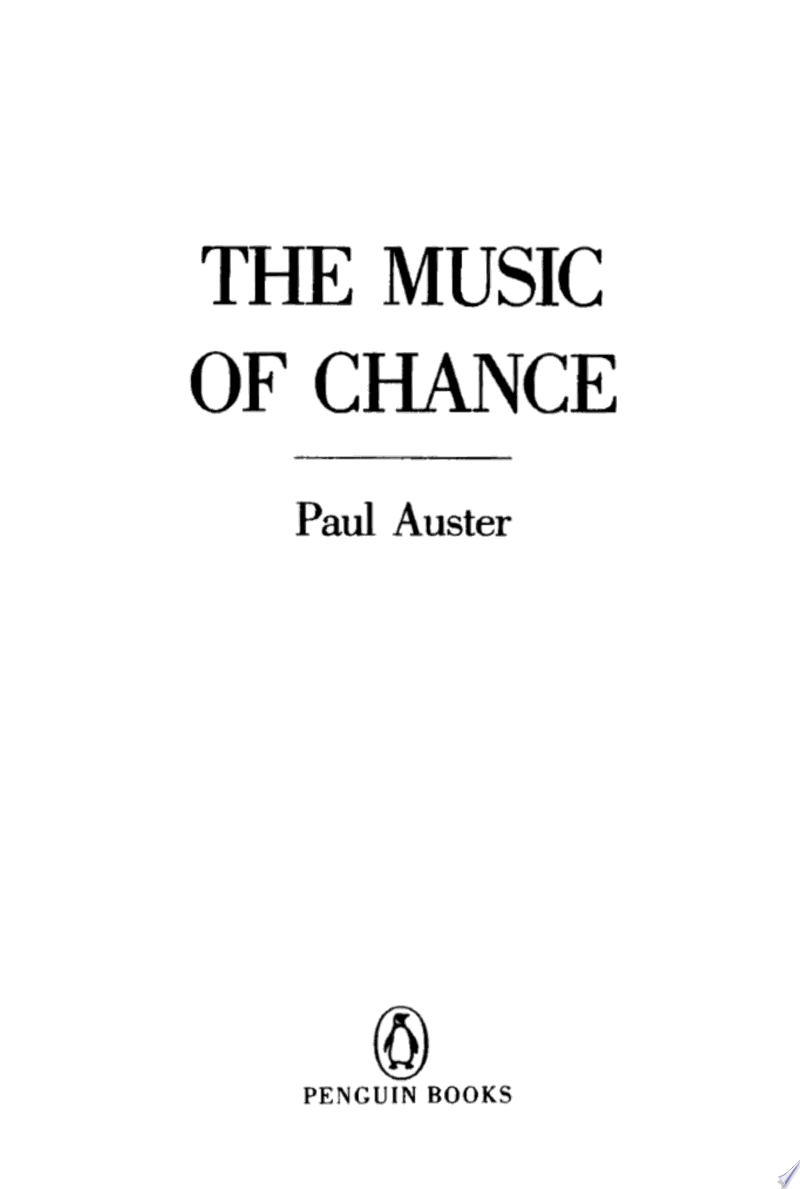 The Music of Chance banner backdrop