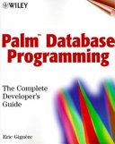 Palm Database Programming