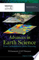 Advances in Earth Science Book